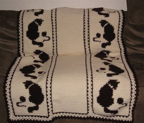 Pattern For Cat Afghan | free quick crochet afghan patterns cat afghan pattern