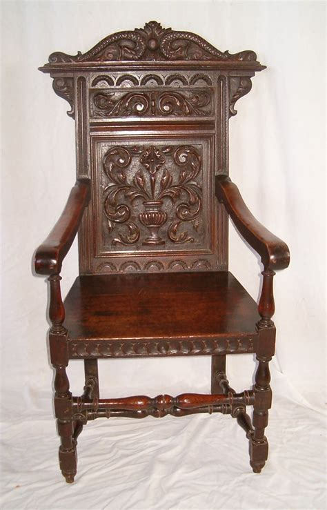Wainscot Chair by Oak Wainscot Chair 274198 Sellingantiques Co Uk