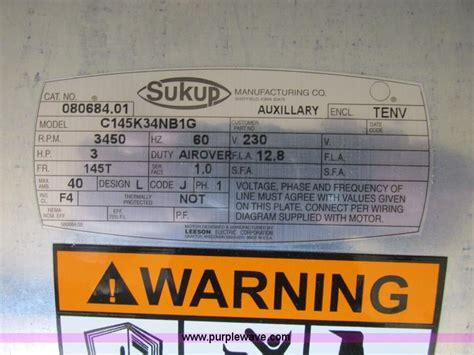 grain bin fans for sale sukup grain bin fan item a8566 sold july 10 ag