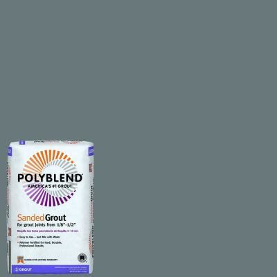 custom building products polyblend 19 pewter 25 lb sanded grout pbg1925 the home depot
