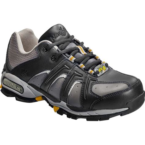 athletic safety shoes nautilus steel toe athletic static dissipative work shoe