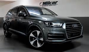 Cleaning Interior Of Car Milcar Automotive Consultancy 187 Audi Q7 2016