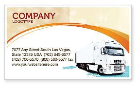 transport business cards templates free truck tractor business card template layout