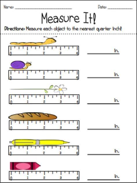 paperclip measurement worksheets for preschoolers