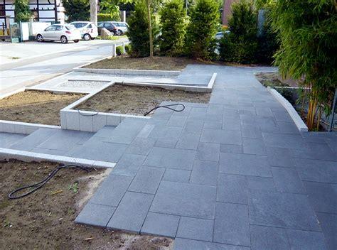 moderne vorgärten barrierefreier vorgarten modern und pflegeleicht