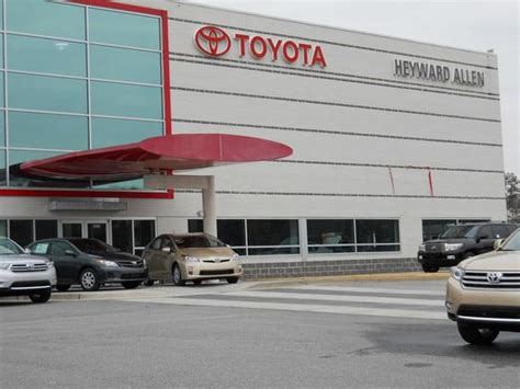 Heyward Allen Toyota Service Heyward Allen Toyota Car Dealership In Athens Ga 30606