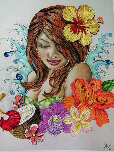 quilling girl tutorial 240 best quilling girls women images on pinterest