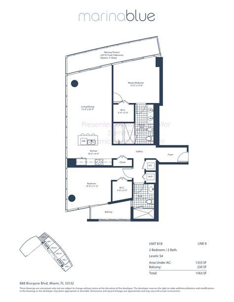 miami condo floor plans marina blue condos 888 biscayne blvd miami fl 33132