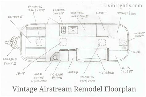 airstream floor plans airstream cers remodel airstream overlander floor