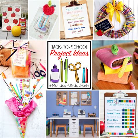 craft ideas for to make at school 9 back to school project ideas club chica circle where