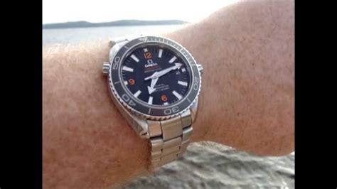 Planet Ocean 8500 42mm Wrist Shots   YouTube