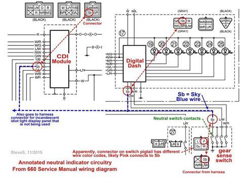 yamaha rhino 2006 450 electrical diagram wiring diagram
