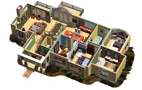 dollhouse view 3 d design