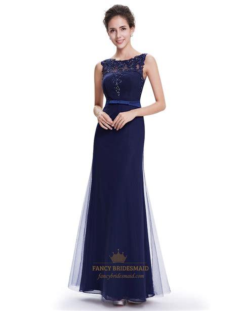 navy blue beaded prom dress navy blue sheath floor length tulle prom dress with beaded