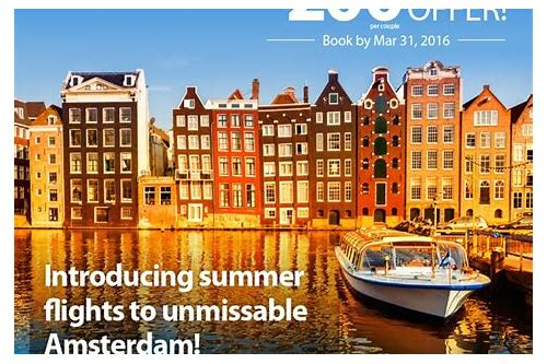 cheap deals to amsterdam with flights