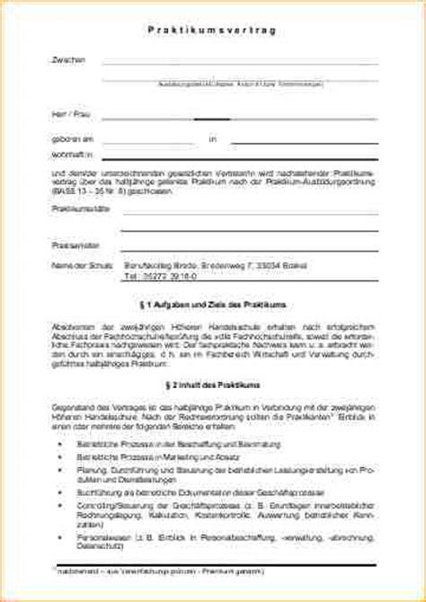 Muster Praktikumsvertrag 9 Praktikumsvertrag Vorlage Deckblatt Bewerbung