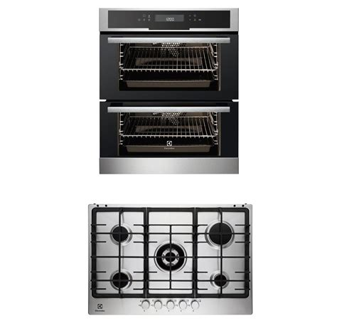 Built In Oven Electrolux Eog1102cox electrolux eou5720aox built oven egg7353nox 75cm gas hob pack ebay