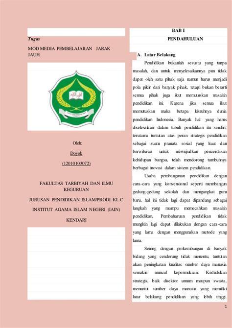 makalah media pembelajaran review ebooks