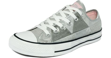 Patchwork Converse - converse chuck all sparkle patchwork sneakers