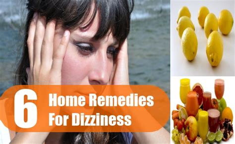 6 home remedies for dizziness treatment and cure