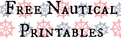 free nautical printable letters free nautical unit study and printables middle school
