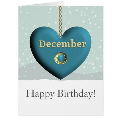 December Birthday Cards December Birthstone Birthday Greeting Card Zazzle