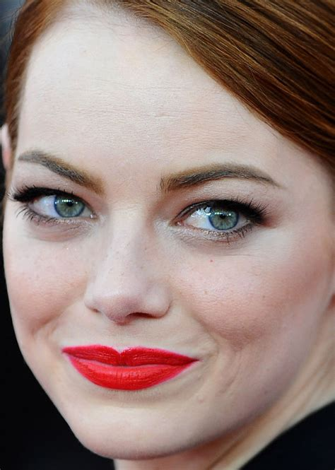 emma stone close up the best beauty at the 2015 sag awards beautyeditor