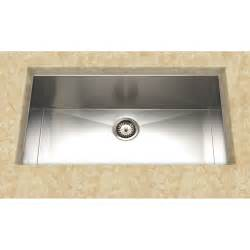 Undermount Kitchen Sinks At Lowes Cantrio Koncepts Kss 004 Undermount Single Basin Kitchen Sink Stainless Steel Lowe S Canada