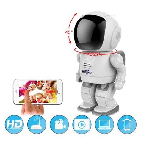 Ip Spc Wifi Robot hiseeu fm3 960p wifi robot ip white