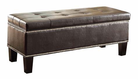 best storage bench reverie lift top storage bench from homelegance 4602pu
