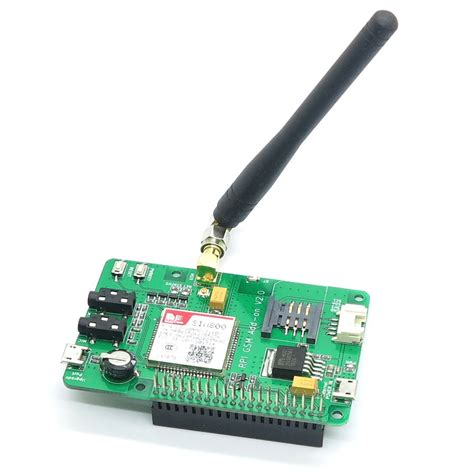 raspberry pi module raspberry pi sim900 gsm gprs add on v1 0