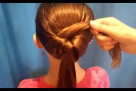 how to do easy hairstyles for kids step by step very easy hairstyles for medium hair youtube