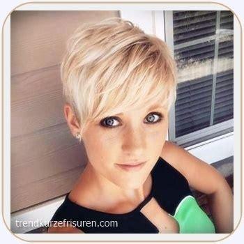 kurzhaarfrisuren damen  blond