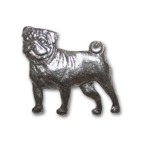 pug pin pugnation pug pewter pin store powered by storenvy