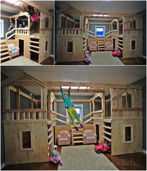 coolest bunk beds 10 cool diy bunk bed designs for
