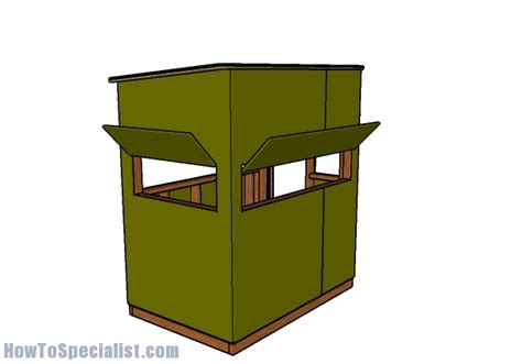 4x6 Shooting House Plans 4x6 Shooting House Plans House And Home Design