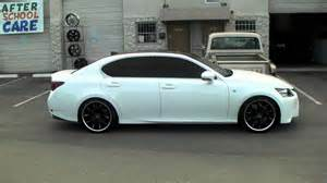 2014 lexus gs350 with 20 inch rims