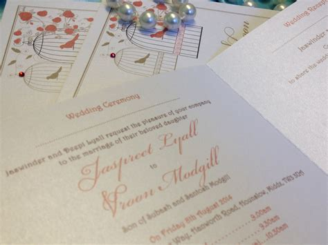 London wedding invitations   beautiful bespoke v   London