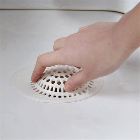 bathtub drain cover hair mylifeunit silicone bathtub drain hair catcher suction