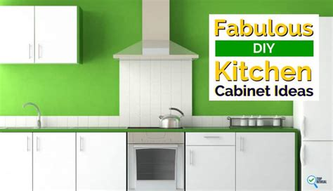 fabulous diy kitchen cabinet and shelf ideas to give your