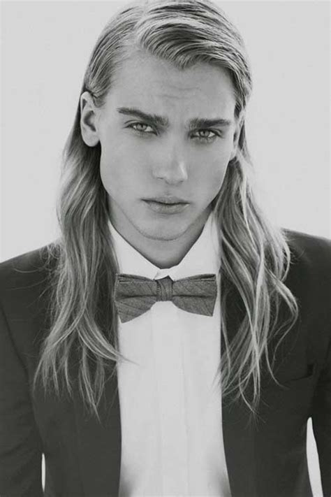 male models with long straight hair 30 men long hair trend haircuts
