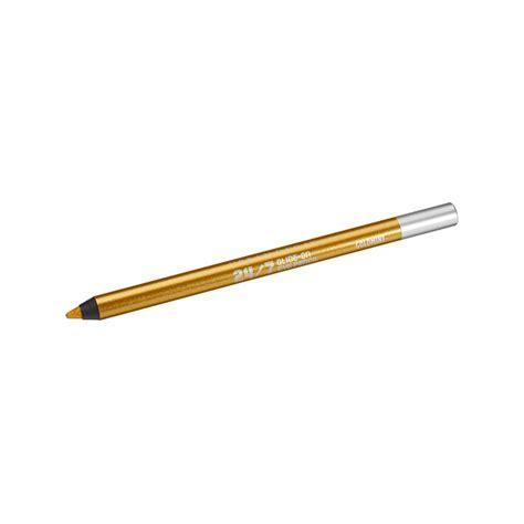 Eyeliner Pencil Decay akzente setzen goldener eyeliner beautypunk