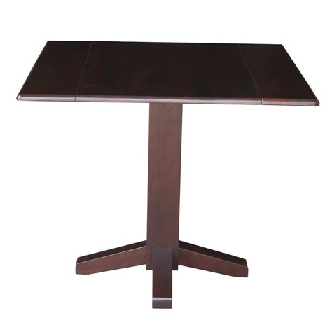 Square Drop Leaf Table Hardwood Square Drop Leaf Dining Table 36 Quot T 36sdp Free Shipping Unfinishedfurnitureexpo