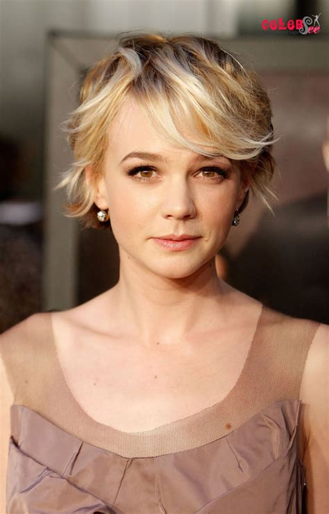 british hair cut images sexy carey mulligan hollywood celebsee