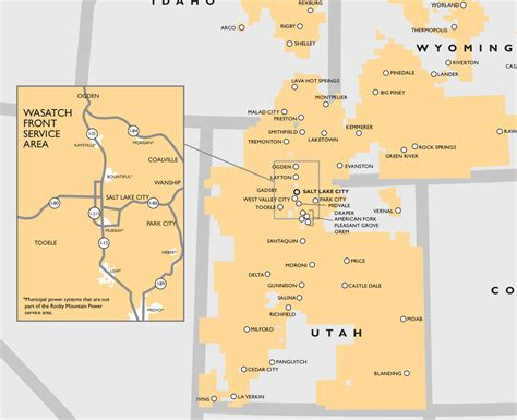 power service map rocky mountain power proposes rate increases for solar