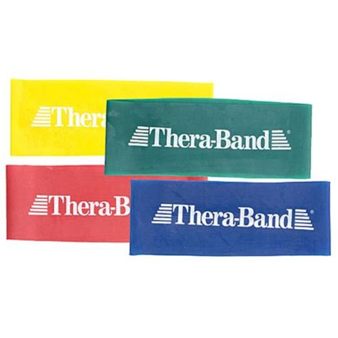 thera band loop medium 20 3cm thera band loops sports supports mobility