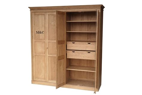 Armoire Dressing by Armoire Dressing 4 Portes Pin Massif