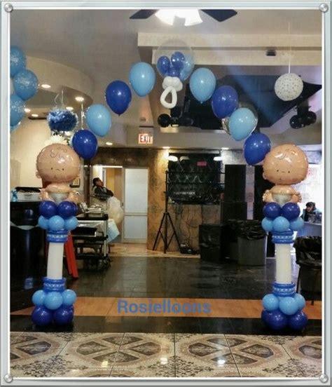 Baby Shower Decor Rosielloons Baby Shower Balloons Decor Pinterest
