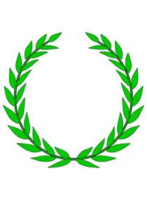 laurel wreath tattoo clipart best