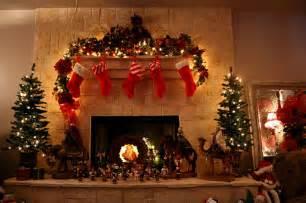 Christmas Tree Christmas Stockings Near A Decorated Christmas Tree » Home Design 2017